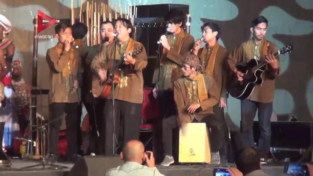 الوطن المصرية:افتتاح مهرجان الطبول من أجل السلام بقلعة صلاح الدين