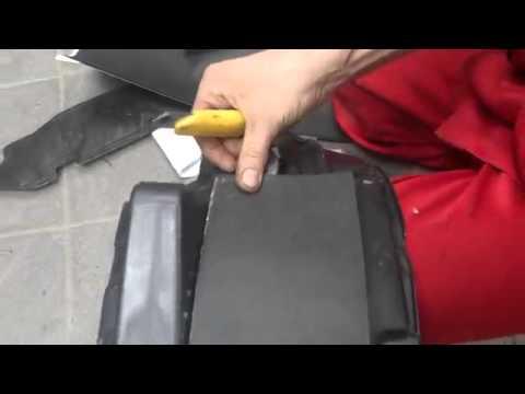 видео: Процесс шумоизоляции колёсных арок honda cr v