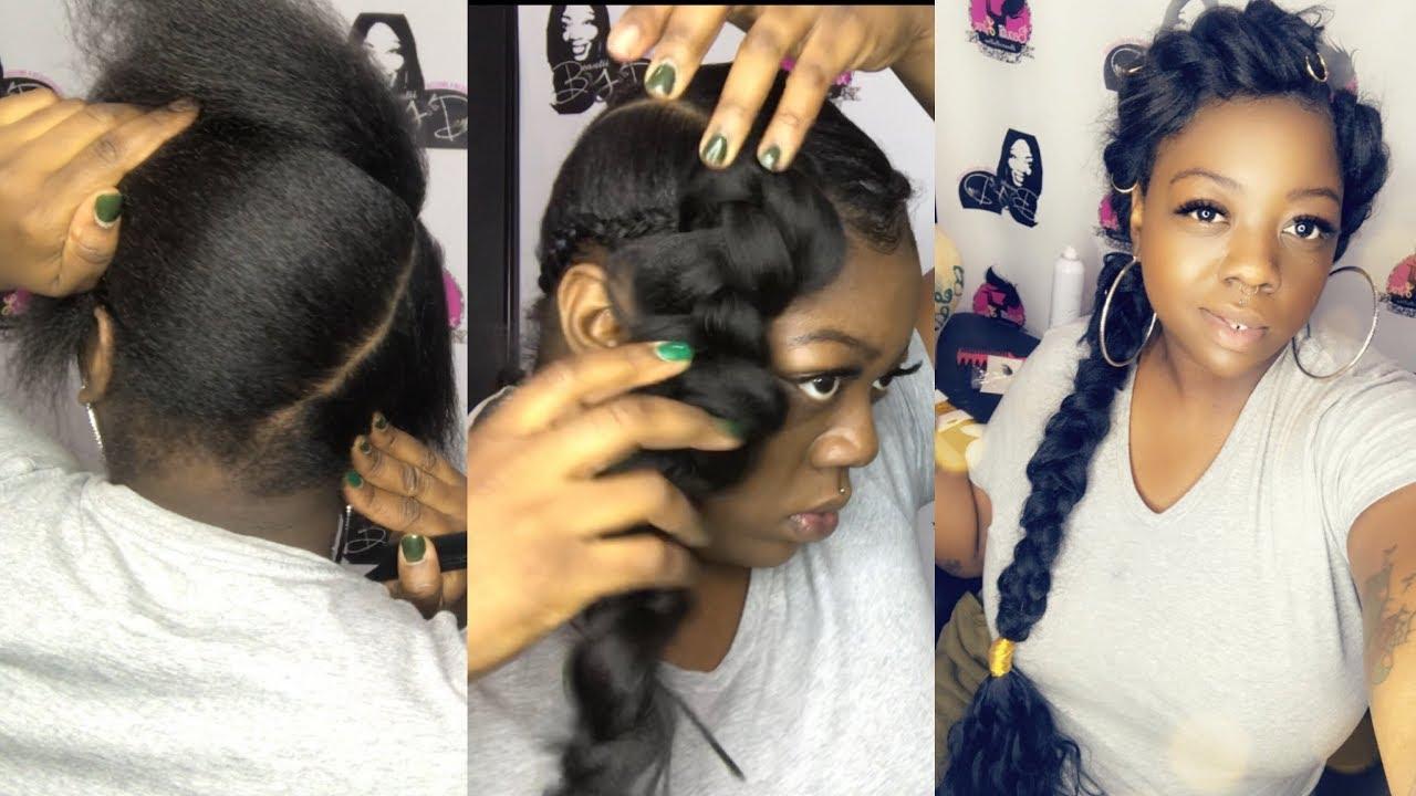 butterfly braid (natural hair)