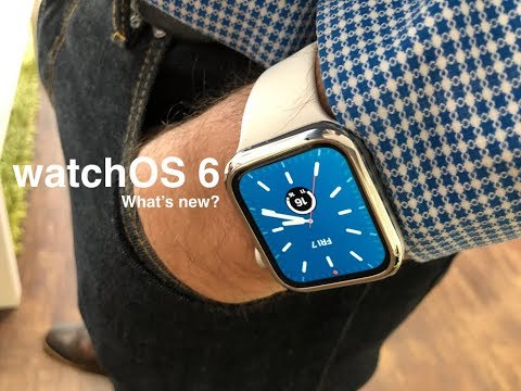 WatchOS 6 Beta 1 The New Features In Apple Watch OS 6 Update