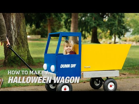 How to Make a DIY Halloween Wagon