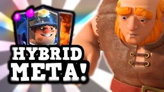 HYBRID is TRENDING :: Control Meets Beatdown :: Pro Tips ft Jigsawqt in Clash Royale