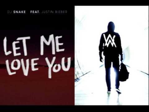 Alan Walker vs. DJ Snake - Faded X Let Me Love You Mashup