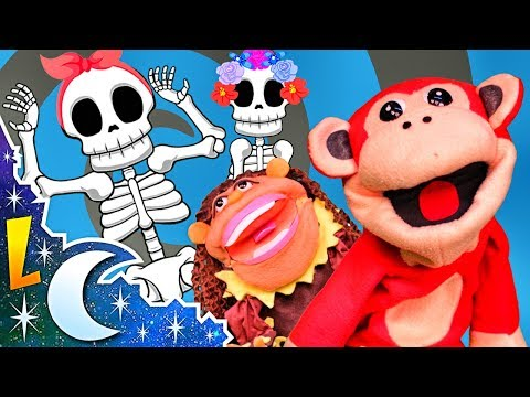 Las Calaveras Salen de Su Tumba Chumbala Cachumbala - Canción infantil con El Mono Sílabo