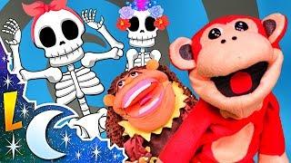 Las Calaveras Salen de Su Tumba Chumbala Cachumbala - Canción infantil con El Mono Sílabo thumbnail