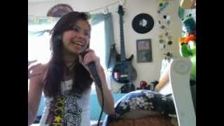 """Arch Enemy Female Vocal Cover """"Through the Eyes of a Raven"""""""