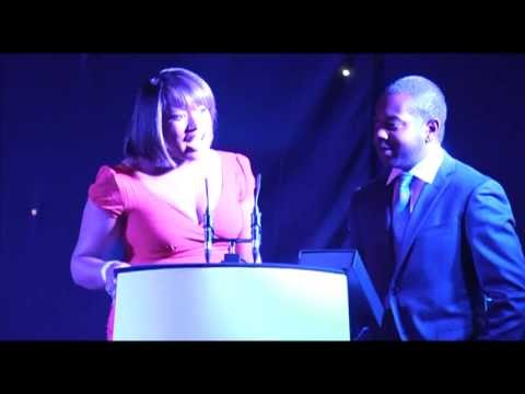 GUBA 2011 | ITV's Charlene White shows us her moves