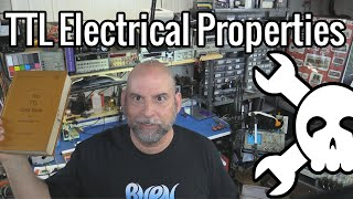 Hackaday Logic Series: TTL Electrical characteristics.