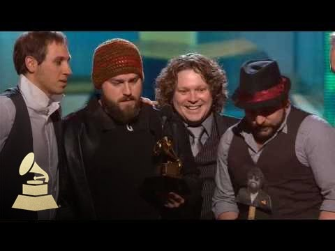 Zac Brown Band accepting the GRAMMY for Best New Artist at the 52nd GRAMMY Awards | GRAMMYs