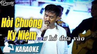 Hồi Chuông Kỷ Niệm Karaoke Quang Lập (Tone Nam) | Nhạc Vàng Bolero Karaoke