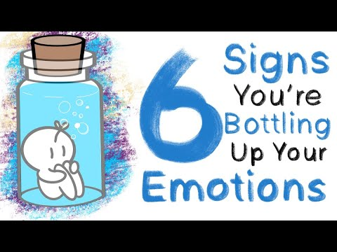 6 Signs You're Bottling Up Your Emotions