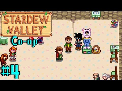 """""""I AM THE EGG FESTIVAL CHAMPION!"""" - Stardew Valley Co-op 