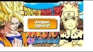Como Jogar - Dragon Ball Z VS Naruto CR: Vegeta!!!