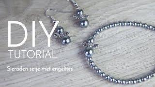 Sieraden maken met Kralenwinkel Online - Sieradenset met engeltjes