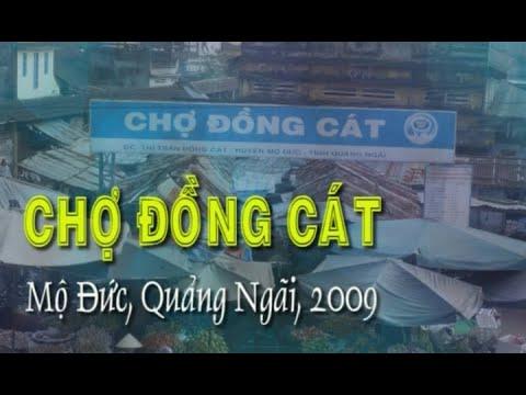 Chợ Đồng Cát - Quảng Ngãi