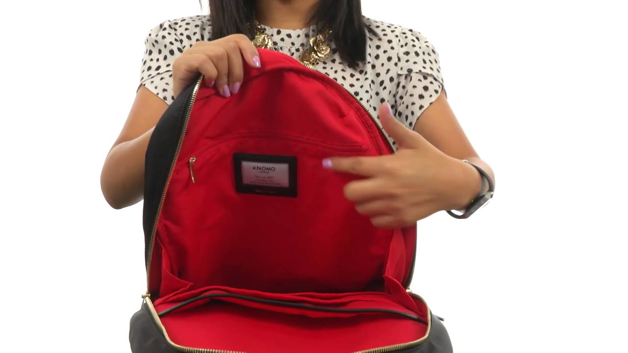 ecc1c484d5e7 KNOMO London Beauchamp Laptop Backpack SKU 8486668. Shop Zappos