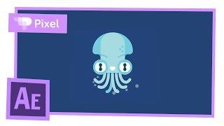 Анимируем осьминога в After Effects   уроки для новичков
