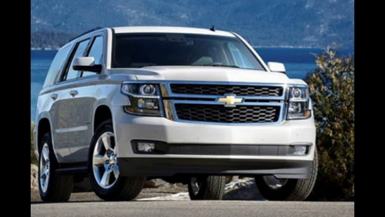 Chevy 2018 New Tahoe Redesign