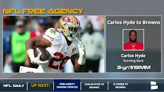 NFL Free Agency: Breaking Down The Major NFL Signings From March 14th