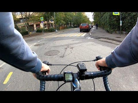 Возвращение с осеннего велофестиваля