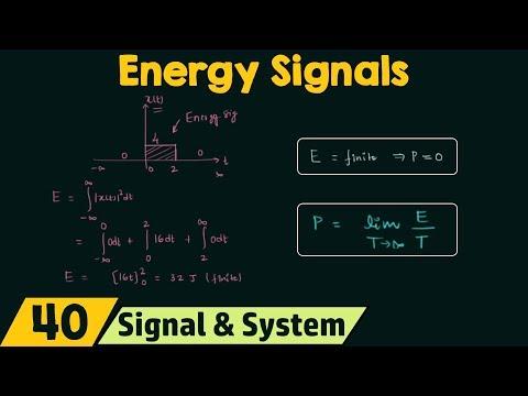 Energy Signals