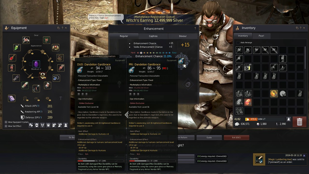 BDO GameZ Enhancing PEN