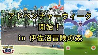 アドベンチャーウィーク開始! in 伊佐沼冒険の森