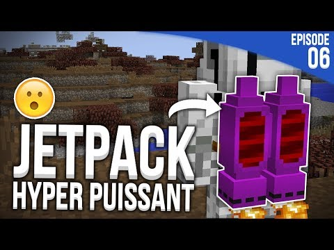 Download Youtube: J'AI TROUVÉ UN JETPACK HYPER PUISSANT ! | Minecraft Moddé S4 | Episode 6
