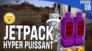 J'AI TROUVÉ UN JETPACK HYPER PUISSANT !   Minecraft Moddé S4   Episode 6