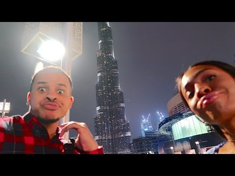 Life With The Logans - DUBAI 🌴🐫 Part 2 - We're In The Future! Dubai Mall/Dubai Fountain