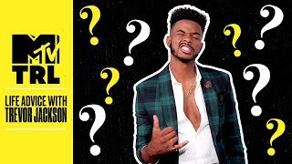Trevor Jackson's Advice On How To Stand Out & More | Life Advice | TRL