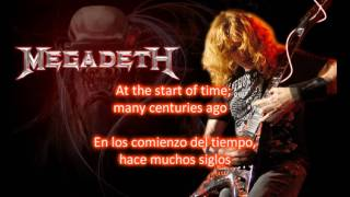 Megadeth: Millennium of the blind de Thirteen(Lyrics y subtitulos en español)