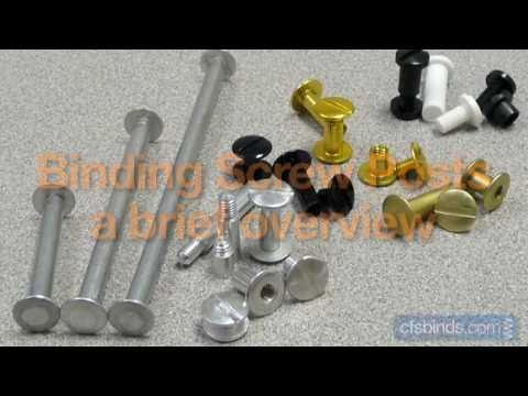 All You Need To Know About Binding Screw Posts