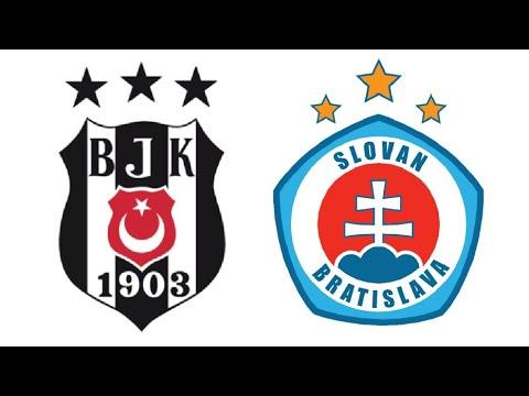 Beşiktaş - Slovan Bratislava Maçı Ne Zaman? Hangi Kanalda? Saat Kaçta?