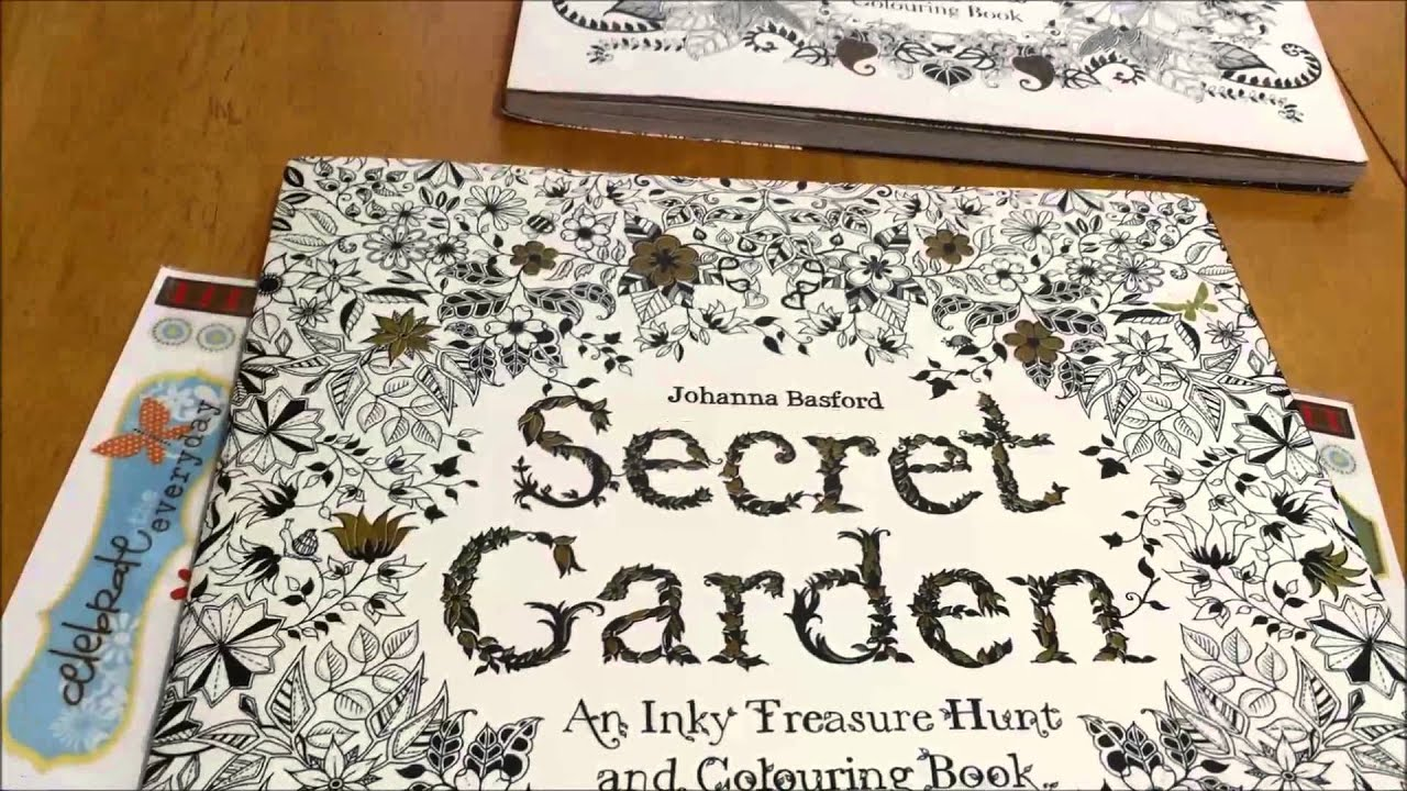 The enchanted forest coloring book review - Adult Coloring Books Enchanted Forest And Secret Garden By Johanna Basford Video Product Review Youtube