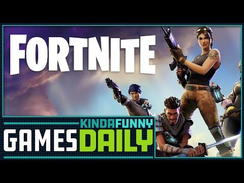 Fortnite Makes $25 MIllion on iOS - Kinda Funny Games Daily 04.19.18