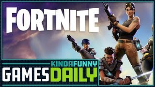 Fortnite Makes $25 MIllion on iOS - Kinda Funny Games Daily 04.19.18