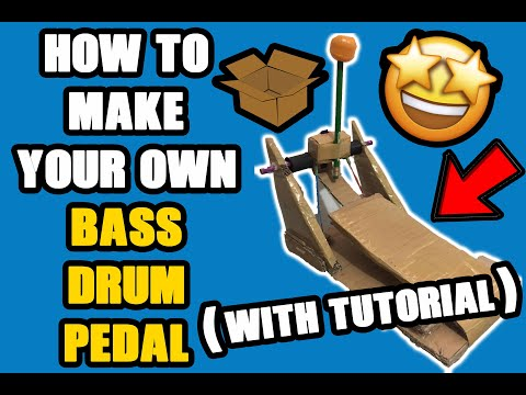 DIY Bass Drum Pedal At Home! (Tutorial) | Vlog #1