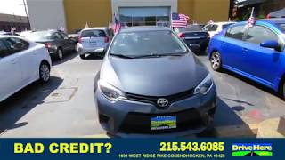 2014 Toyota Corolla, 100% Application Review Policy