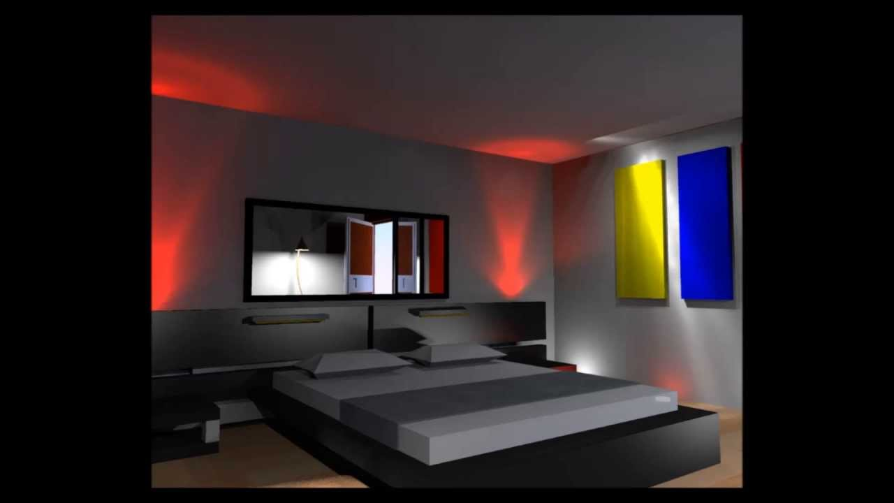 Iluminacion led para dormitorios luces led para muebles - Iluminacion led dormitorio ...