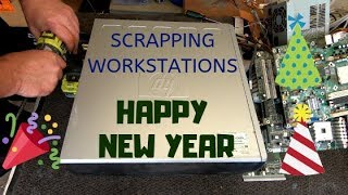 Scrapping HP Workstation & End of Year Chat