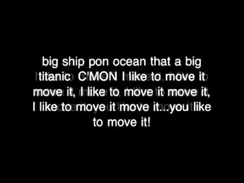 I Like To Move It Move It   Lyrics