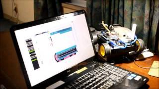 4WD ROBOT 20141024 2  by kaiyu ryozin on YouTube
