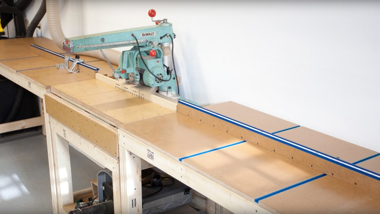 New Shop Build Part 7 How To Build A Movable Miter