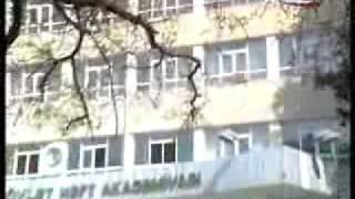 Neft Akademiyası hadisələ haqqında AzTV-nin xəbəri