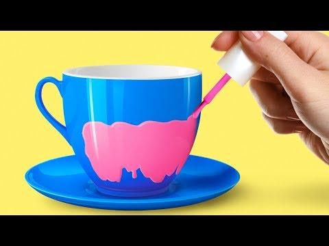 Украшение чашек своими руками