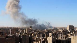 أكثر من 80 قتيلا في قصف روسي على القورية بريف دير الزور