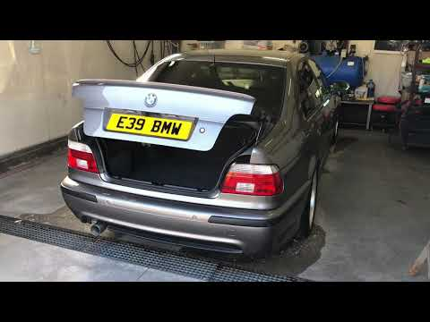 BMW E39 Hydraulic Boot/trunk Retrofit