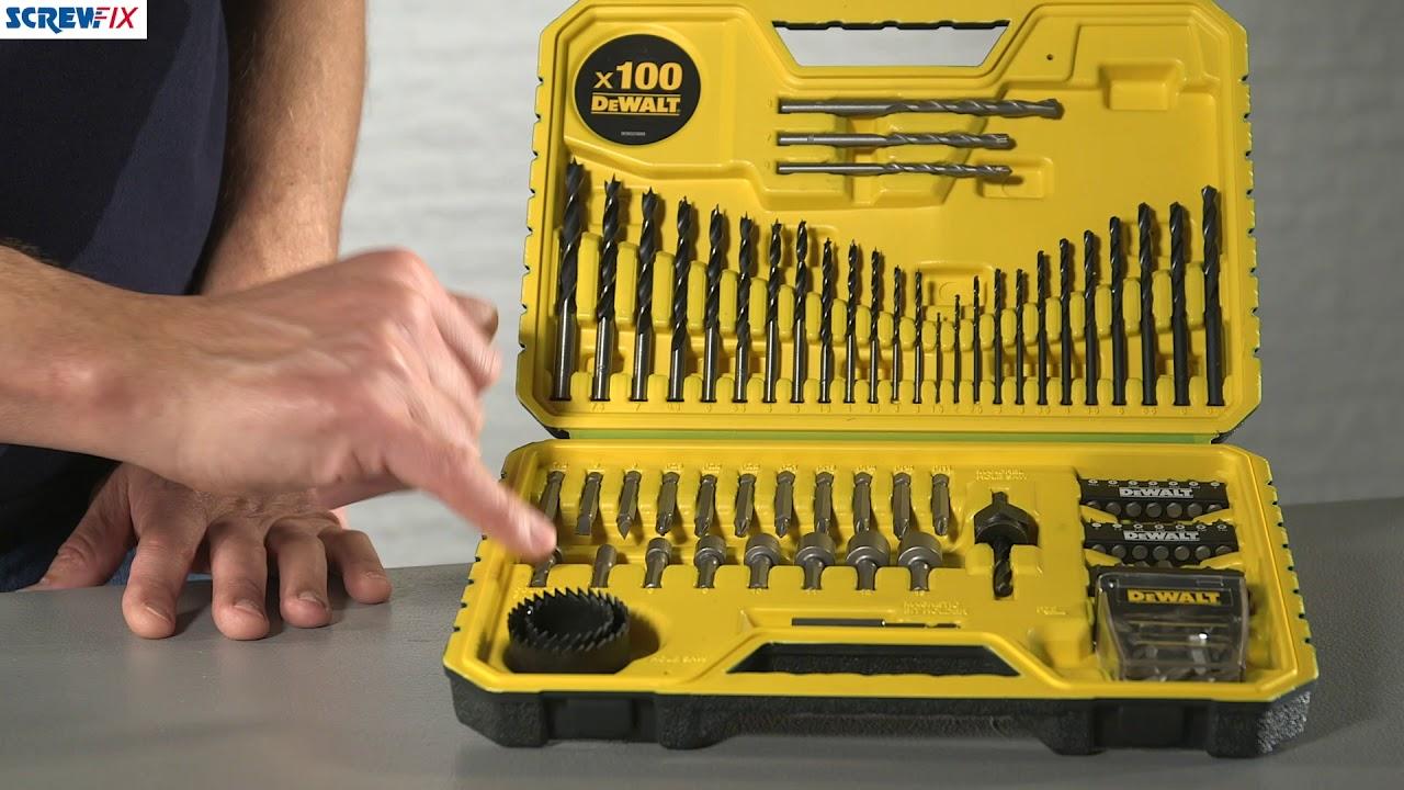Screwfix dewalt screwdriver bits 16 inch tool bag