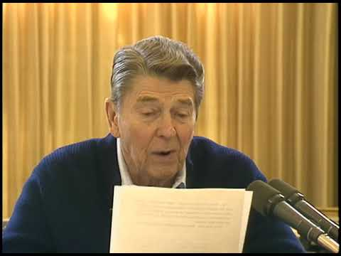 President Reagan's Radio Address on NATO Summit in Brussels, Belgium on March 5, 1988